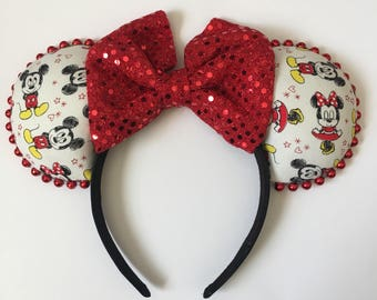 Minnie and Mickey Mouse Ears