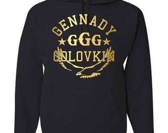 9087a943855b26 Run Canelo GGG Gennady Golovkin Unisex T Shirt