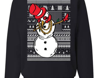 popular items for dabbing santa ugly christmas sweater