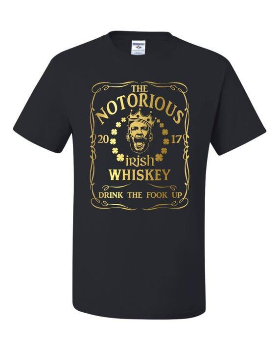 Conor Mcgregor Notorious Irish Whiskey Unisex T Shirt Etsy