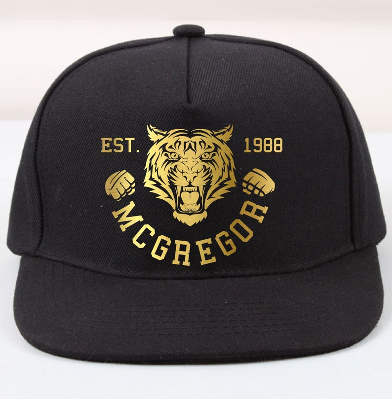 f49118739c5 Conor McGregor Tiger Trucker Cap