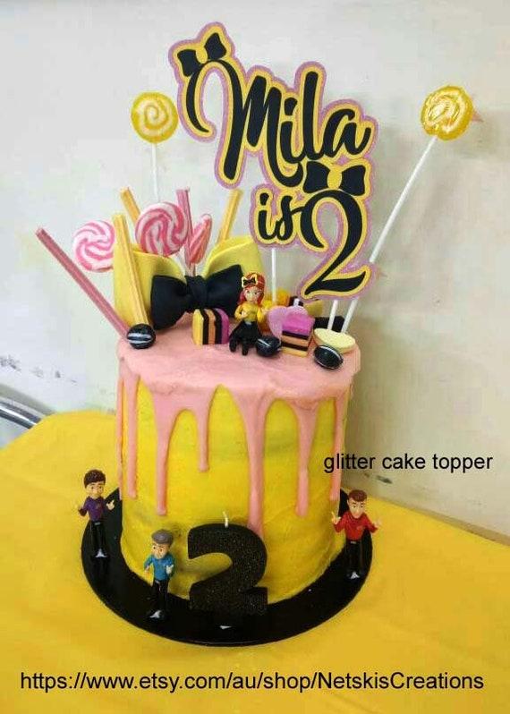 Custom Cake Topper Emma Wiggle   Etsy