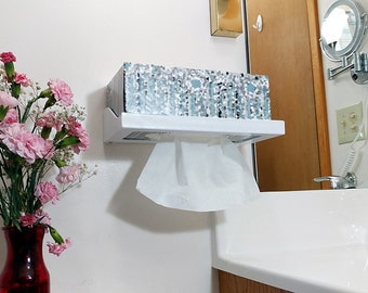 FLIP IT ™ Tissue Box Holder - Large and Small Wall Mounted