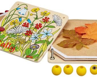 Personalised Flower Press, Personalised child's gift, Wooden Flower Press, Traditional flower press, Flower Press Craft, Creative flower art