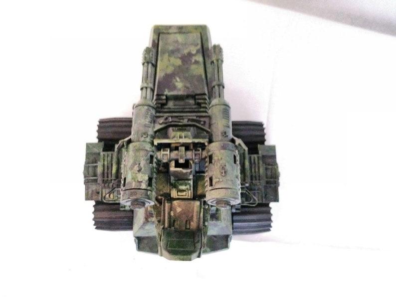 Vintage GI Joe Custom Painted 1983 Hiss Tank