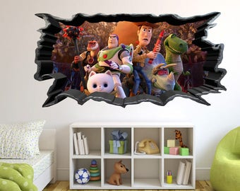 Toy story wall decal Etsy