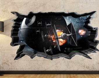 Death Star War Wall Art Etsy