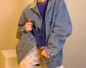 35506e388b1 Lee chore jacket w/ corduroy collar L/XL