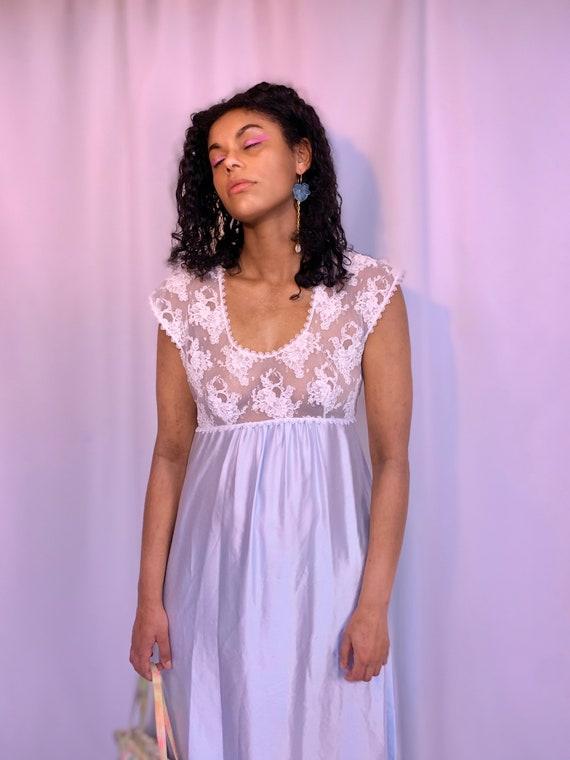 90's sheer mesh babydoll slip dress - image 5