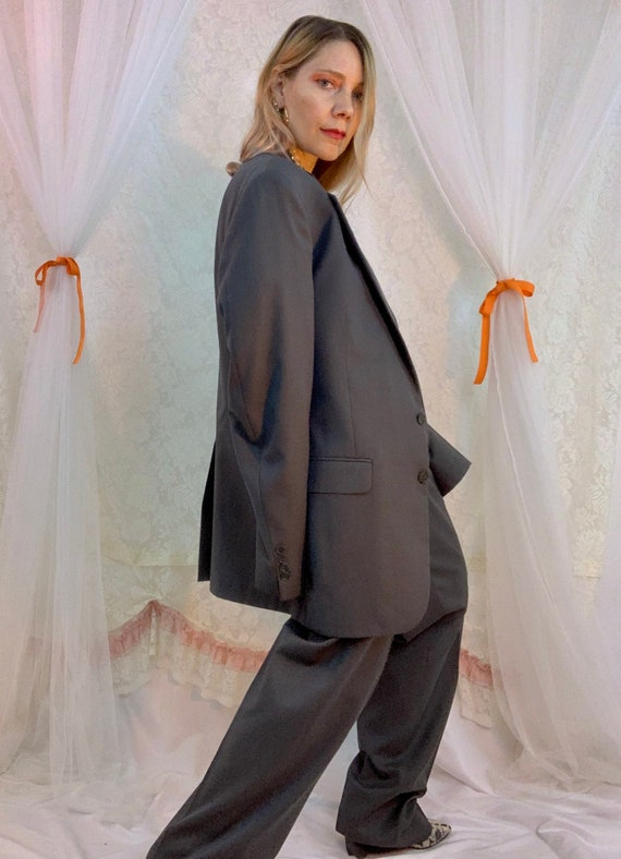 Menswear 80's pleated pant suit