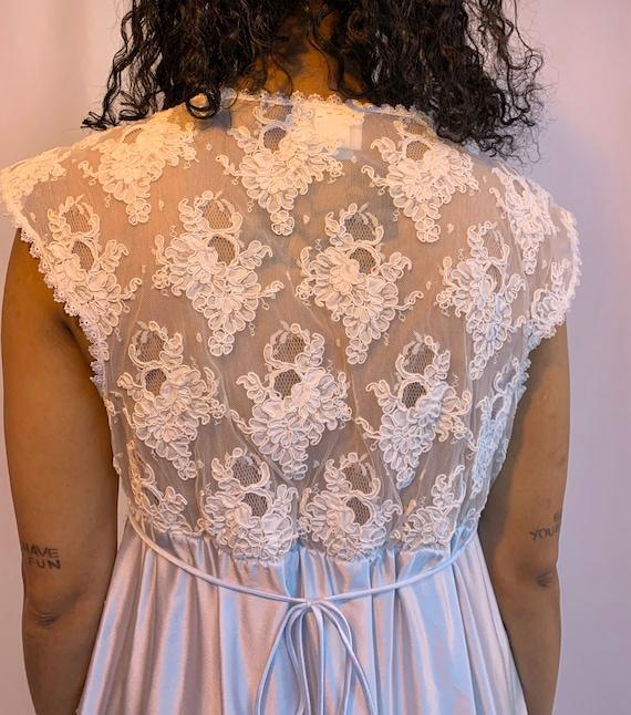 90's sheer mesh babydoll slip dress - image 8