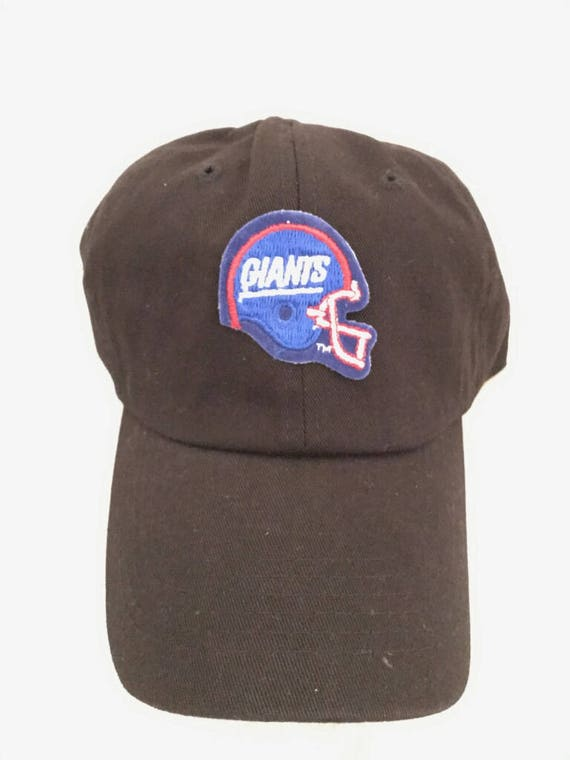 c94f1a8754757 Vintage NFL New York Giants Football Unstructured Dad Hat