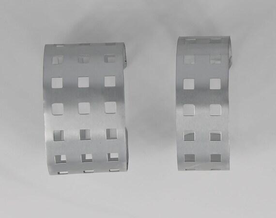 Grid Cuff Bracelet