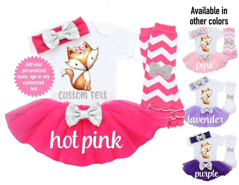 Custom Girls Coming Home Outfit Baby Shower Gift Custom Newborn Hospital Personalized Floral Deer Girls Baby Set Baby Girl Clothes Boho