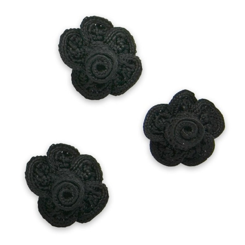 Expo Pip Rose Applique Pack of 3