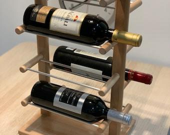 Wood wine rack - Italian style