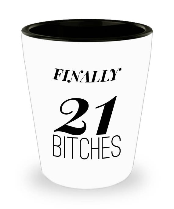 Unique 21st Birthday Gifts For Her Shot Glasses