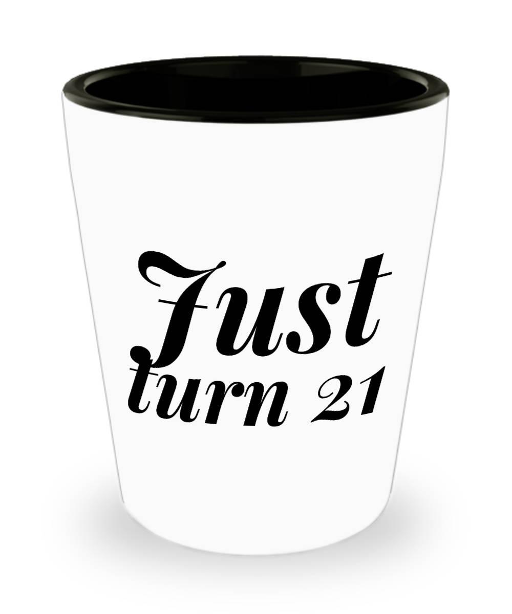 Unique 21st Birthday Gifts For Her-21st Shot Glasses 21 | Etsy