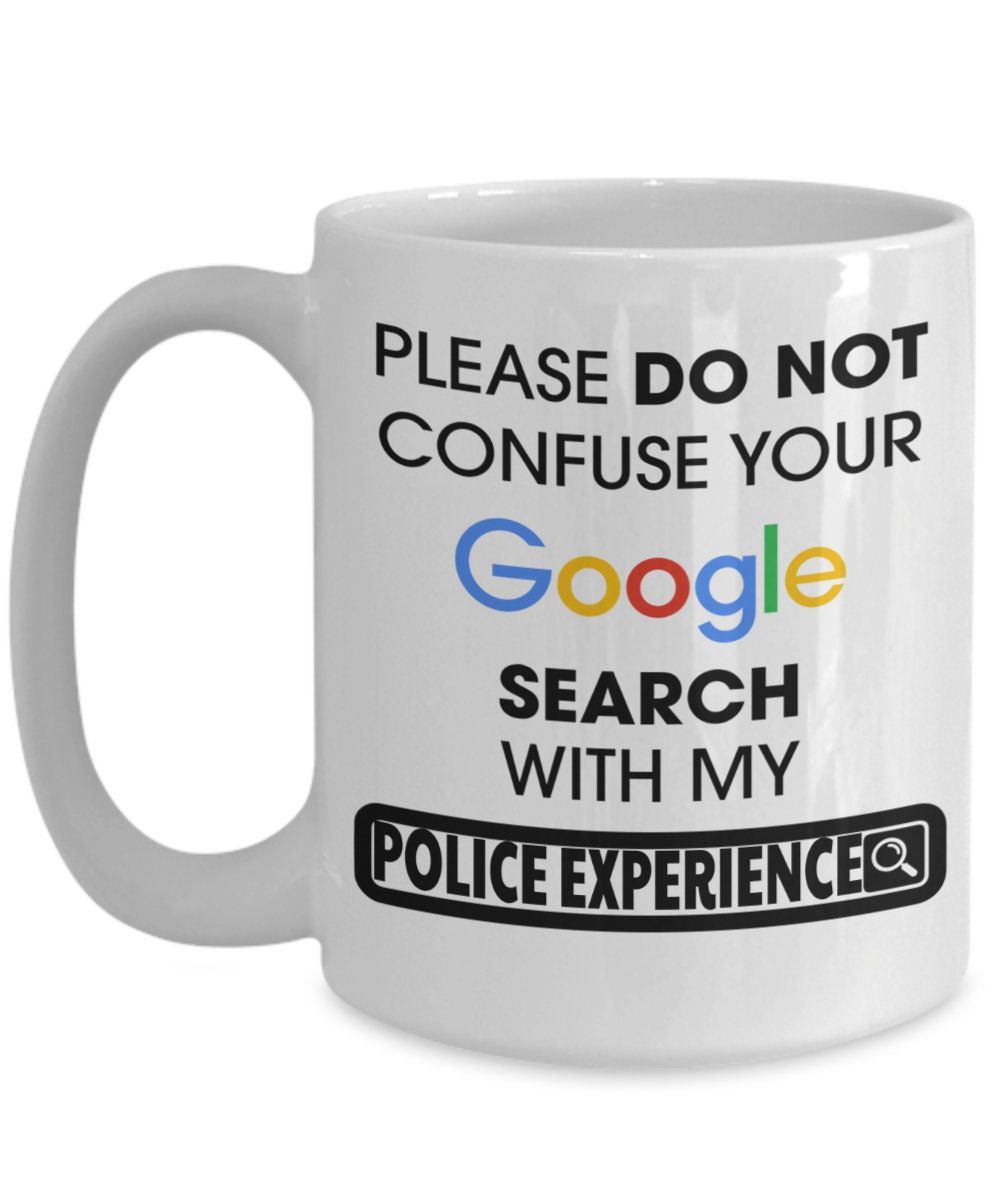 Details about  /Gervais Family Police Gift Coffee Mug