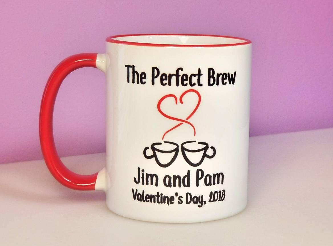The Perfect Brew Mug Couples Coffee Mug Personalized | Etsy