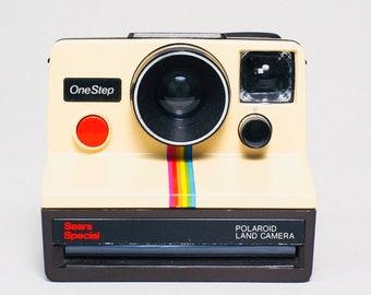 Polaroid Rainbow Print