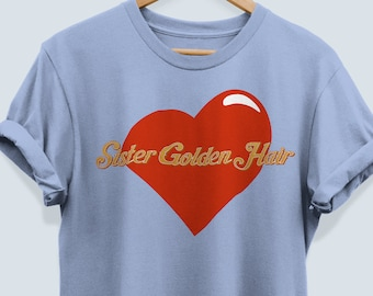 America the band Inspired Sister Golden Hair Shirt America Rock Band Shirts Classic Rock Vintage Shirt TShirt 70s rock Hippie Boho