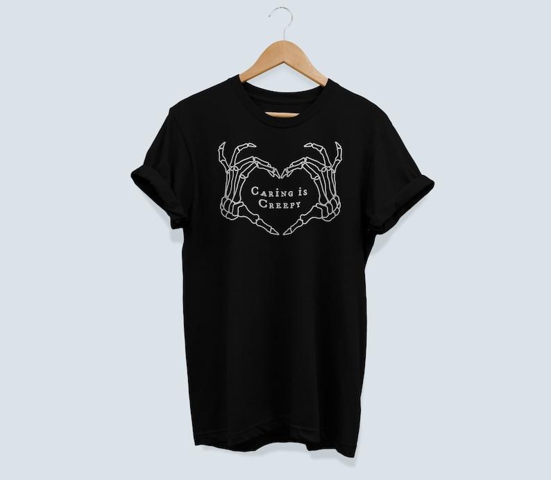 The Shins Inspired Shirt Caring is Creepy Tee The Shins Tee image 0