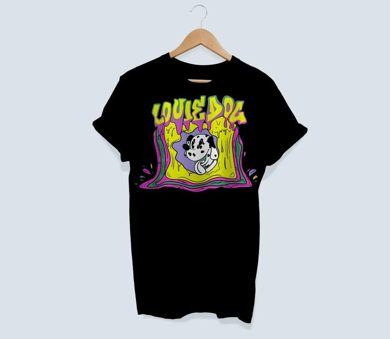 Sublime Inspired Shirt Lou Dog T Shirt Sublime Louie Dog image 0