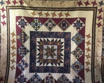 Quilt - Queen Size - First Ladies Quilt