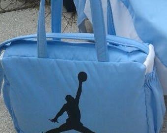 15245a8ee92874 MICHAEL JORDAN basketball BABY blanket quilt