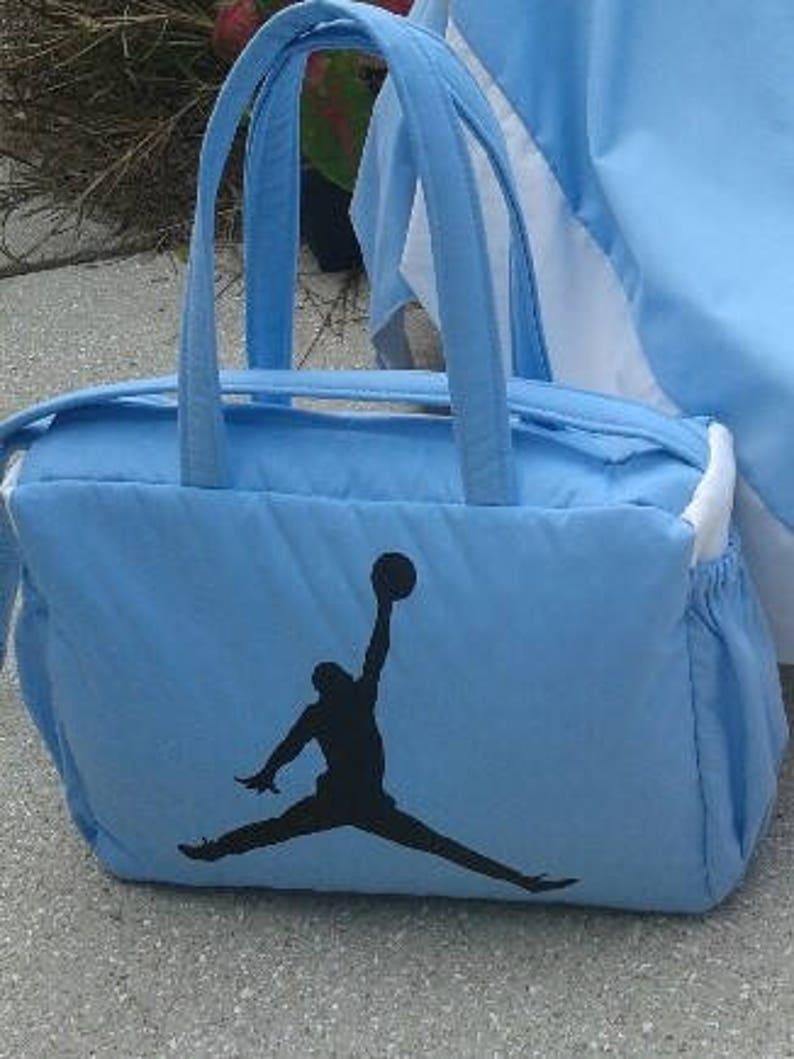 cb1cde666c654d Michael Jordan Blue white Diaper Bag