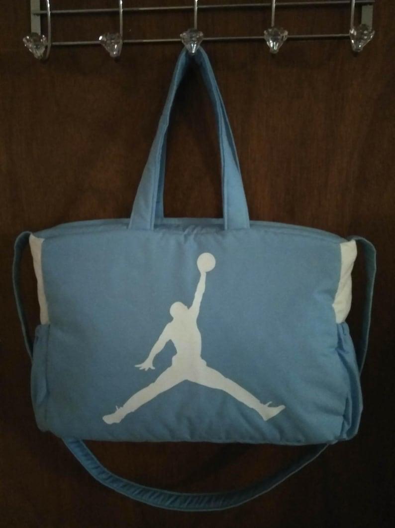 91bdf4a6bdd9aa MICHAEL JORDAN DIAPER bag white black