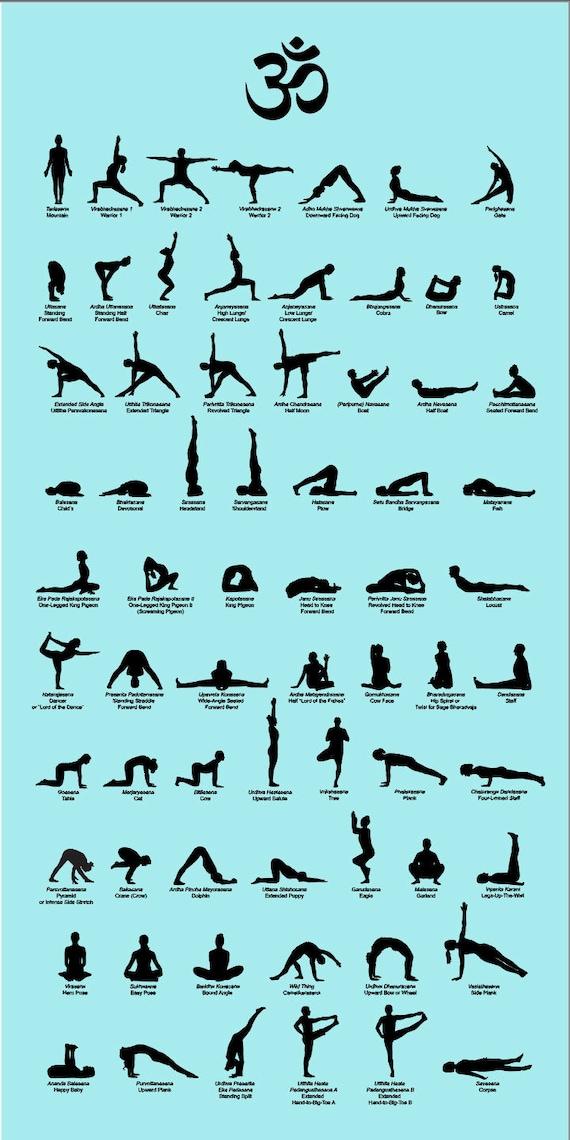 Yoga Poses Names In English | Blog Dandk