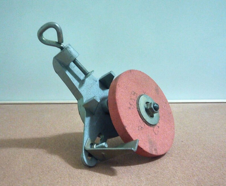 The manual sharpener for knives from the USSR 50-60s.Stamp,original.