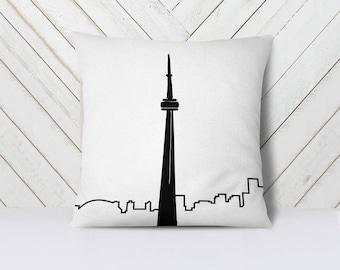 Toronto Throw Pillow Cover