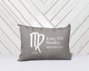 Astrology throw pillow covers (Virgo-Scorpio)