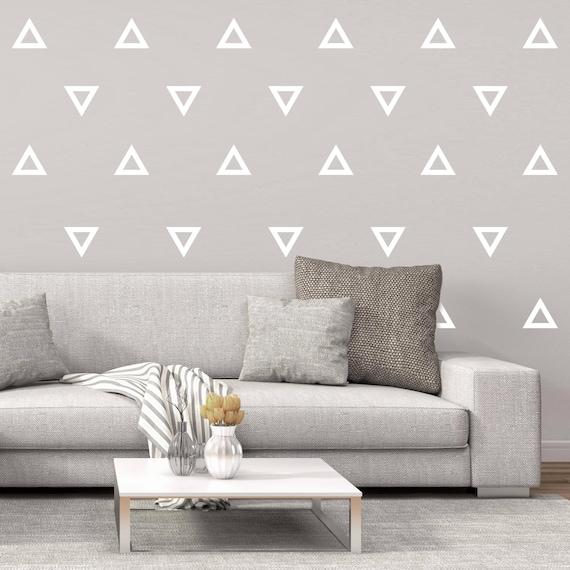 Decalcomanie Da Muro.Decalcomanie Da Muro Pattern Pattern Decalcomanie Da Muro Di Triangolo Vinile Adesivo Triangolo Parete Arte Parete Pattern Modello Decal Wall