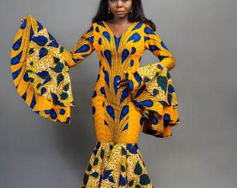 9ce709759 African clothing for women,African maxi dress,Ankara party dress,African  party wear,African designs,African print dress,Ankara clothing
