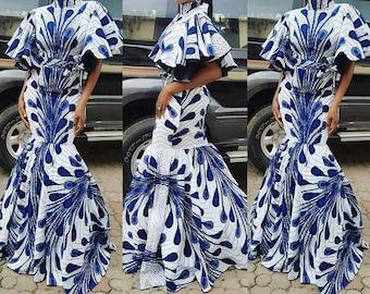 African wedding dress   Etsy