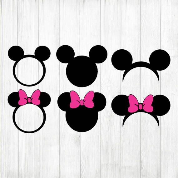 INSTANTÁNEA descargar Mickey & Minnie Mouse Svg Mickey Svg | Etsy