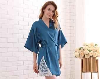 e52577ebaf Cotton Lightweight Bridesmaid Robes Soft Cotton Robes