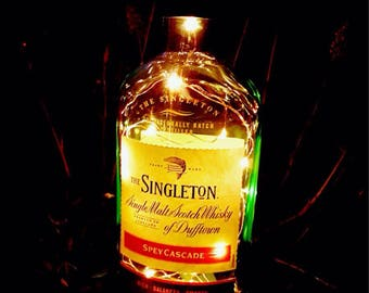 Singleton Whisky Fairy Light Lamp