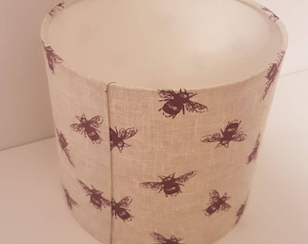Busy Bees 20cm Drum Lampshade