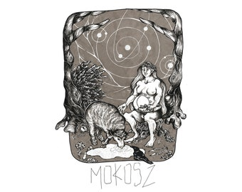 Mokosz A4Giclée  Print