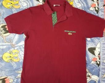 Vintage 90s Lacoste Polo Size 4 Medium