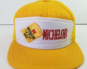 784761c666bea2 Vintage 70s Michelob Beer Trucker Hat 80s