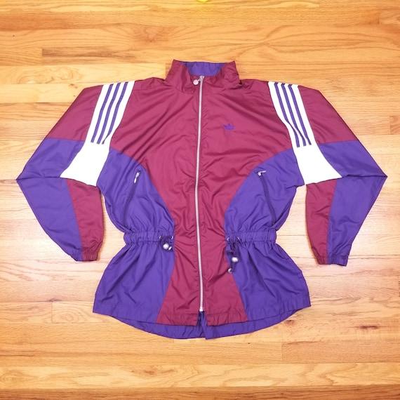Adidas purple coat | Etsy