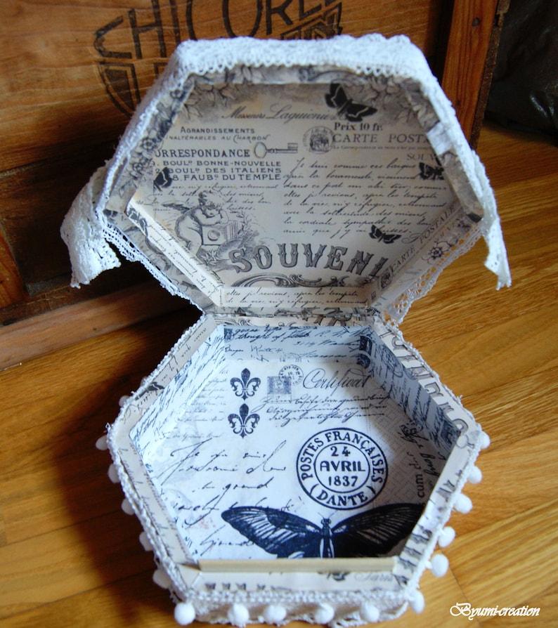 Vintage shabby box