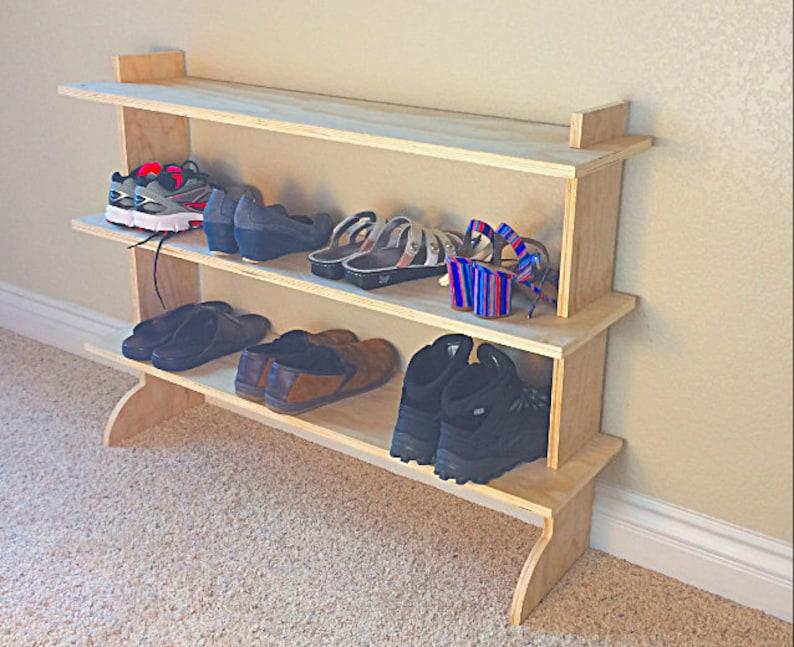 Super EZ scarpiera Scarpiera in legno per armadio o | Etsy
