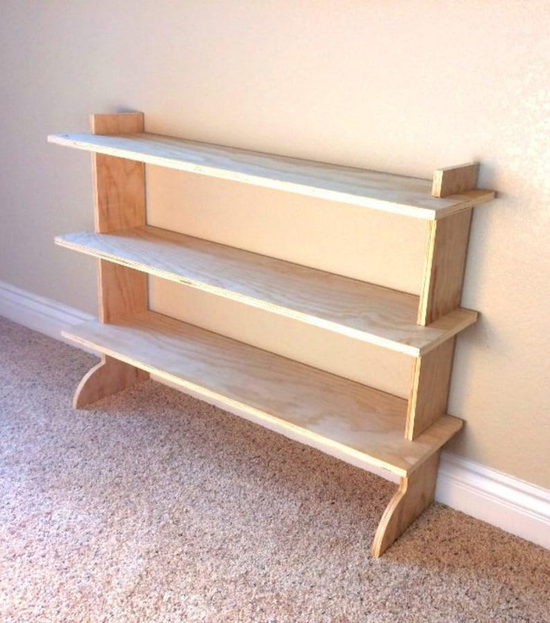 Super Ez Shoe Rack Wood Shoe Rack For Closet Or Home Etsy